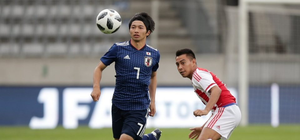 Gaku Shibasaki proved vs Colombia he is Everton's perfect Schneiderlin replacement