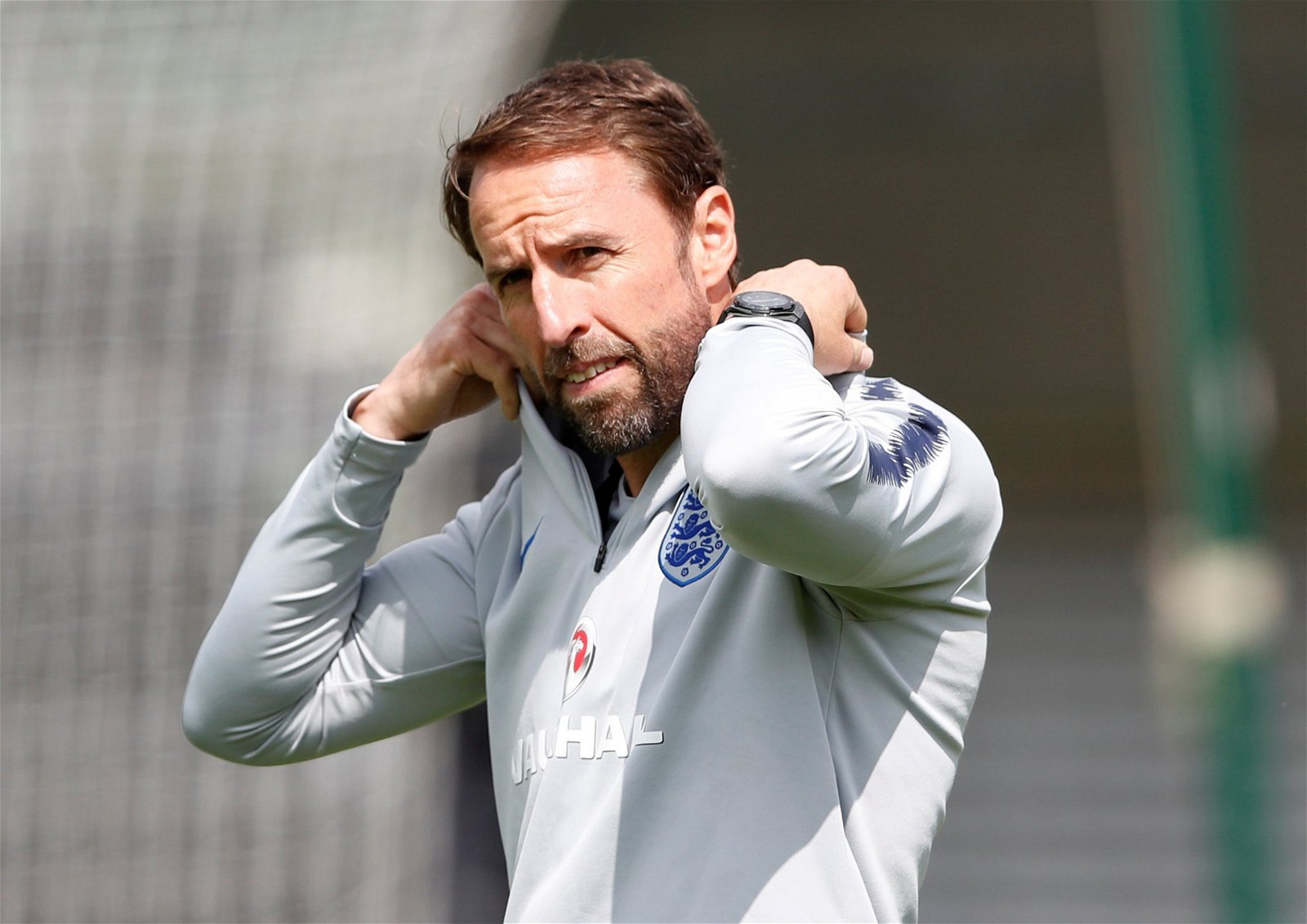 Gareth Southgate in England training (2)