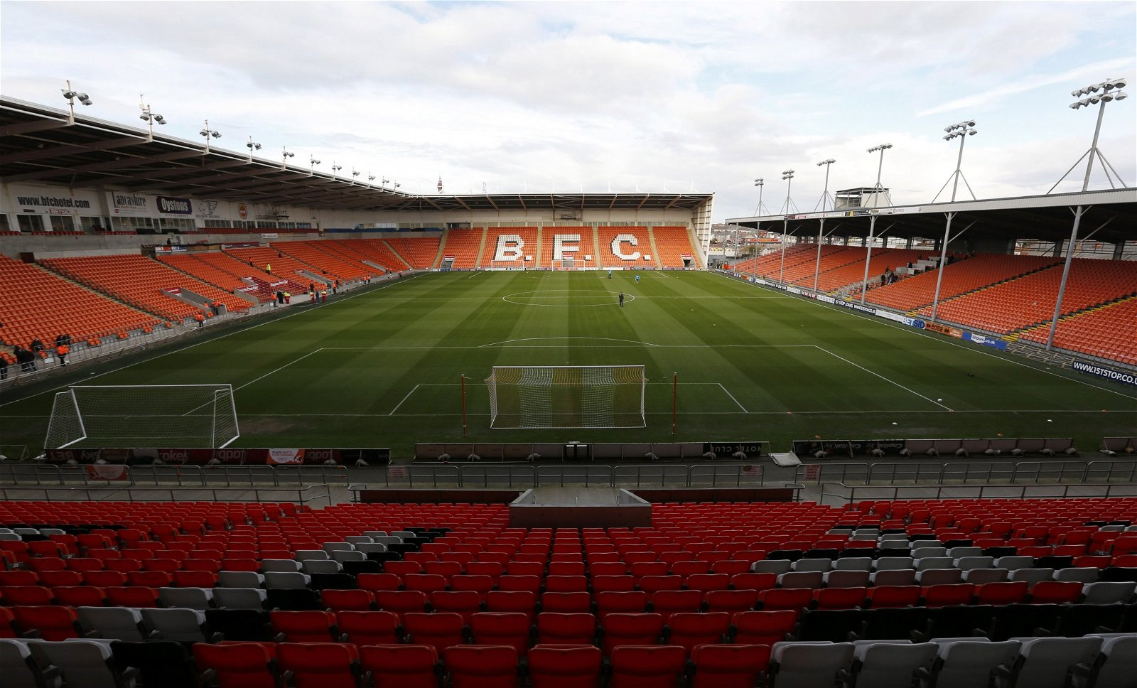 General view of Bloomfield Road