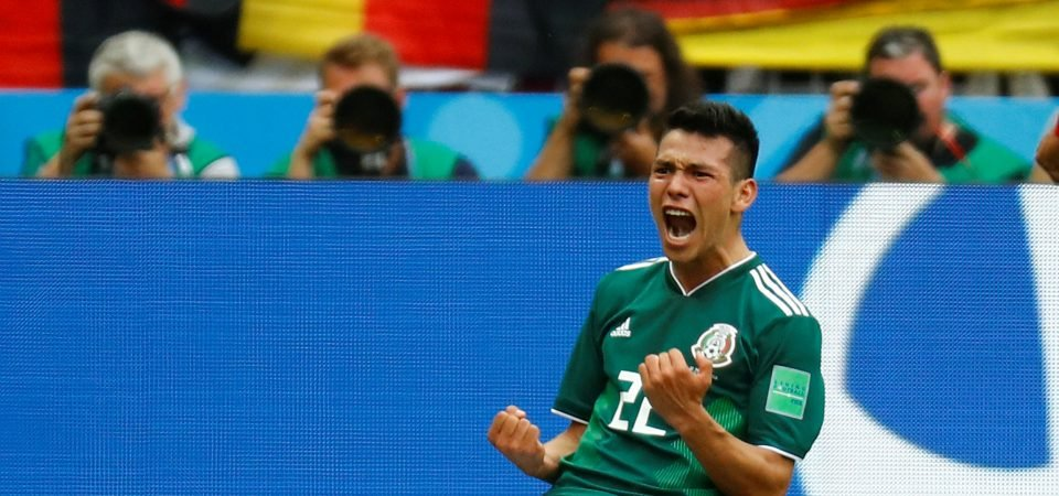 Tottenham fans would love to sign Hirving Lozano after Mexico performance