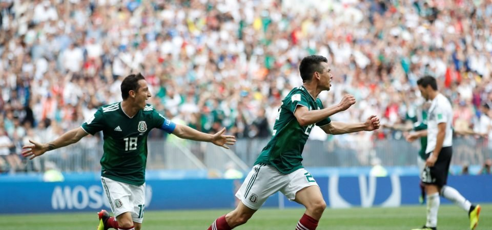Everton have made a fatal error by not signing Hirving Lozano before the World Cup