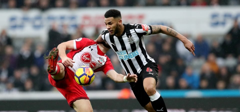 Jamaal Lascelles would be an excellent buy for Everton this summer