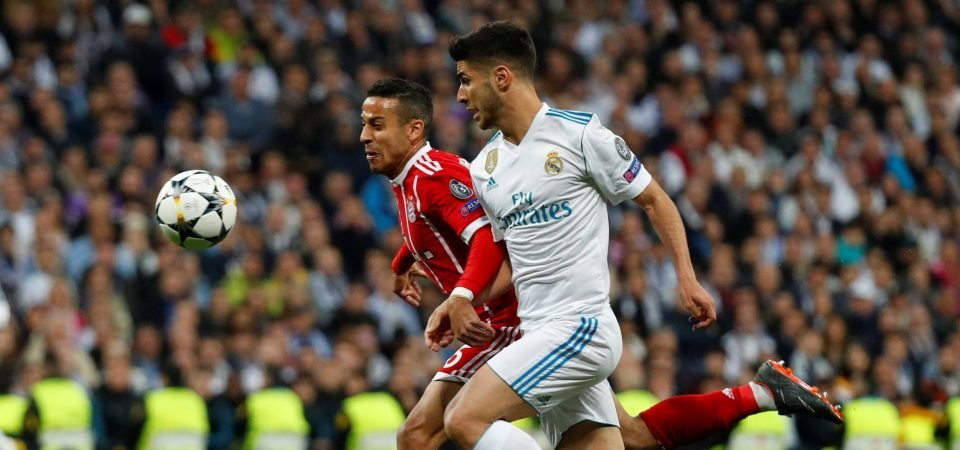 Revealed: 75% of Chelsea fans feel Asensio would be a good Hazard replacement