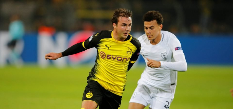 Tottenham fans are split on prospect of signing Mario Gotze from Dortmund