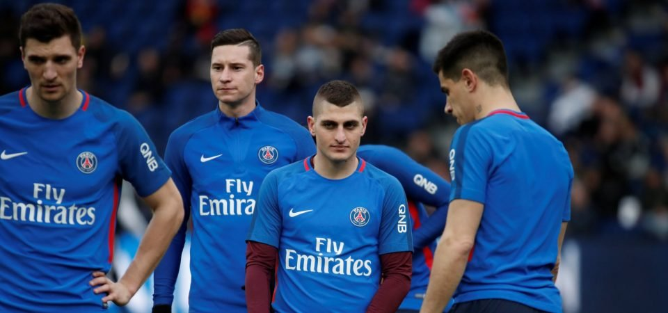 Revealed: Big majority of Man United fans think Verratti would be better than Kante