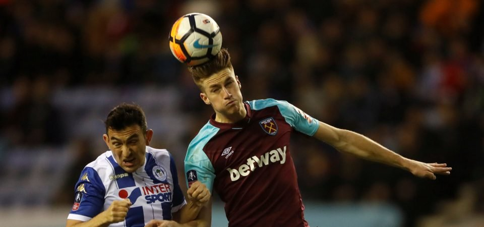 Marcelo Bielsa must hijack Derby's bid to sign West Ham centre-back Reece Burke