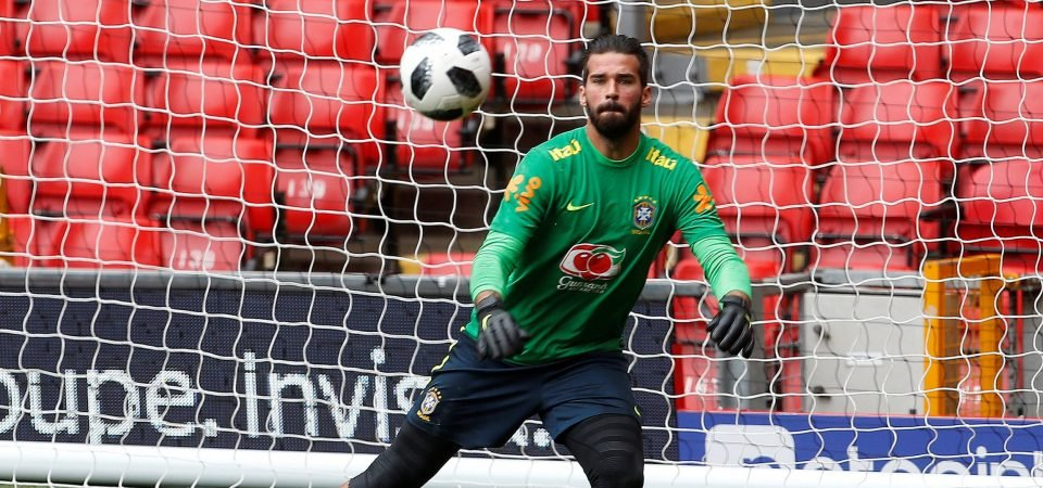 Liverpool fans freak out as reports claim Alisson move is on