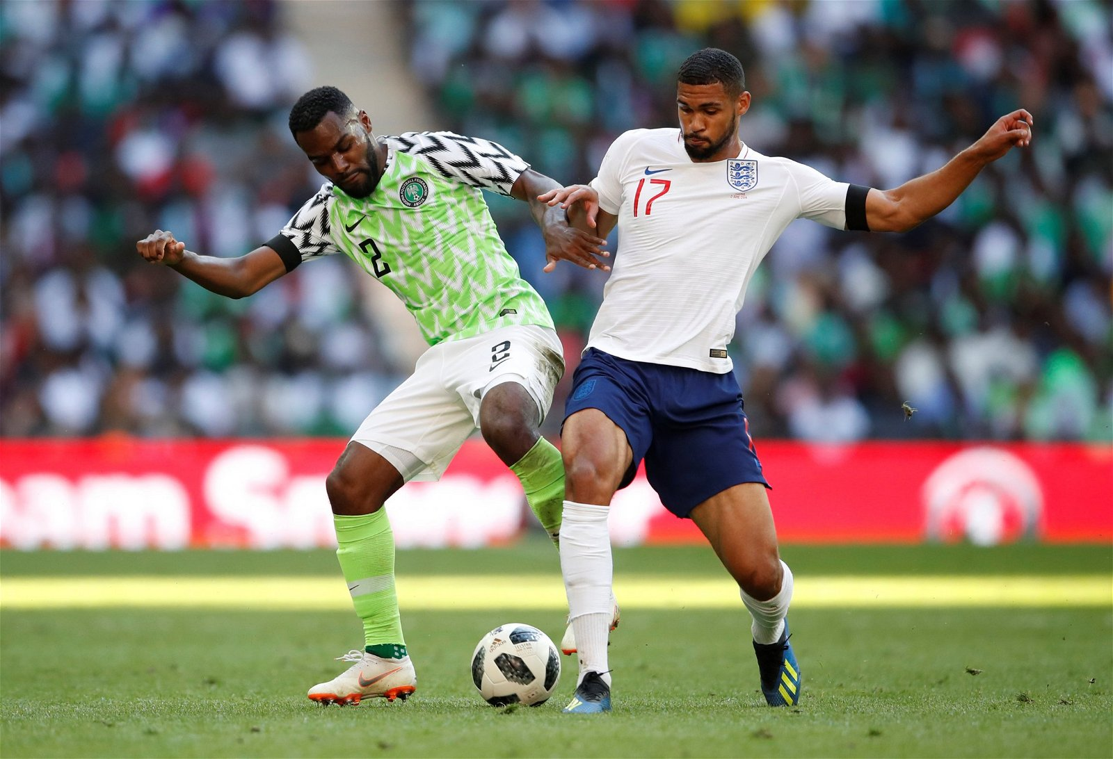 Ruben Loftus-Cheek in action against Nigeria