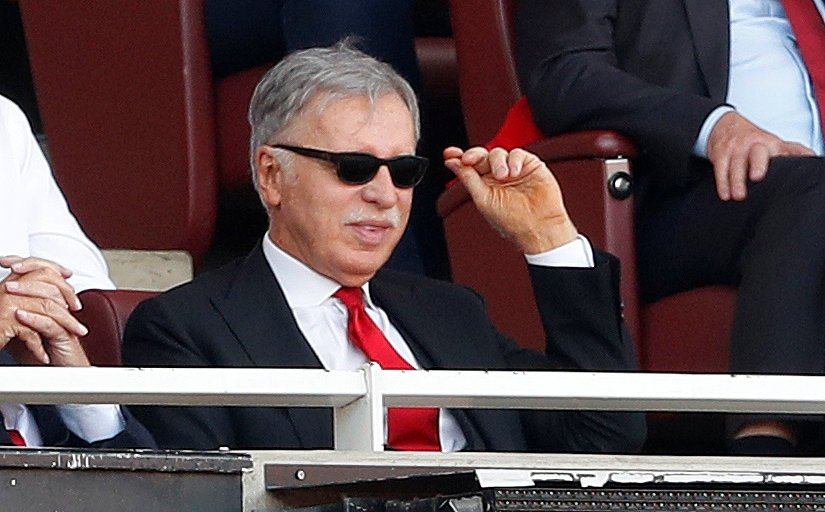 Stan Kroenke at the Emirates Stadium