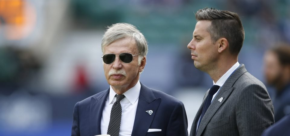 Stan Kroenke makes a change, but expect him to stay the same