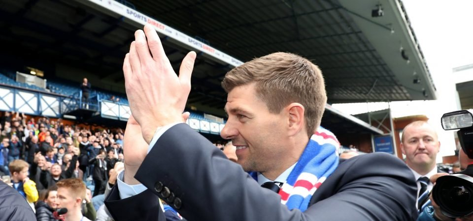 Rangers fans are excited by Steven Gerrard's staff picks to support his management role