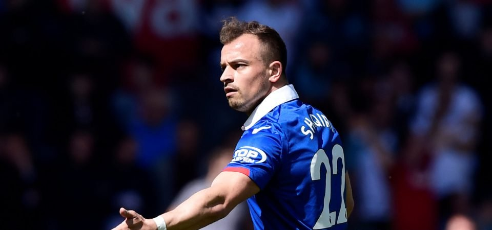 Shaqiri to join Liverpool after the World Cup, fans react