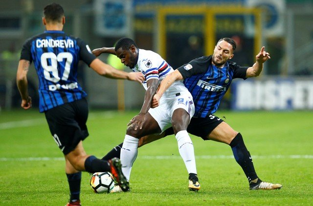Duvan Zapata could be the powerhouse striker Newcastle are looking for