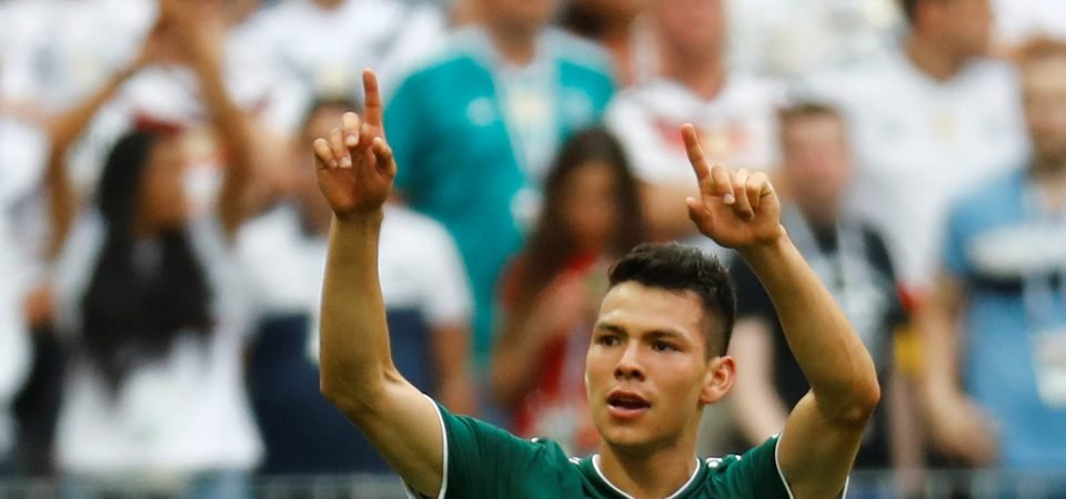Lozano's display against Germany shows he could be Everton's ideal wideman