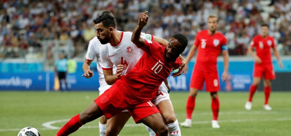 Sterling toiled against Tunisia's massed ranks but still created opportunities