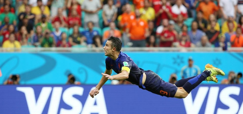 Greatest World Cup moments: Van Persie's gravity-defying header