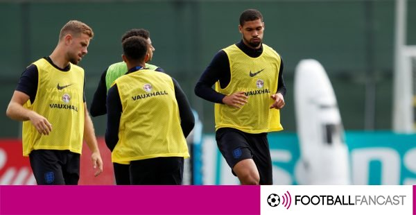 Ruben-loftus-cheek-warms-up-ahead-of-england-training-600x310
