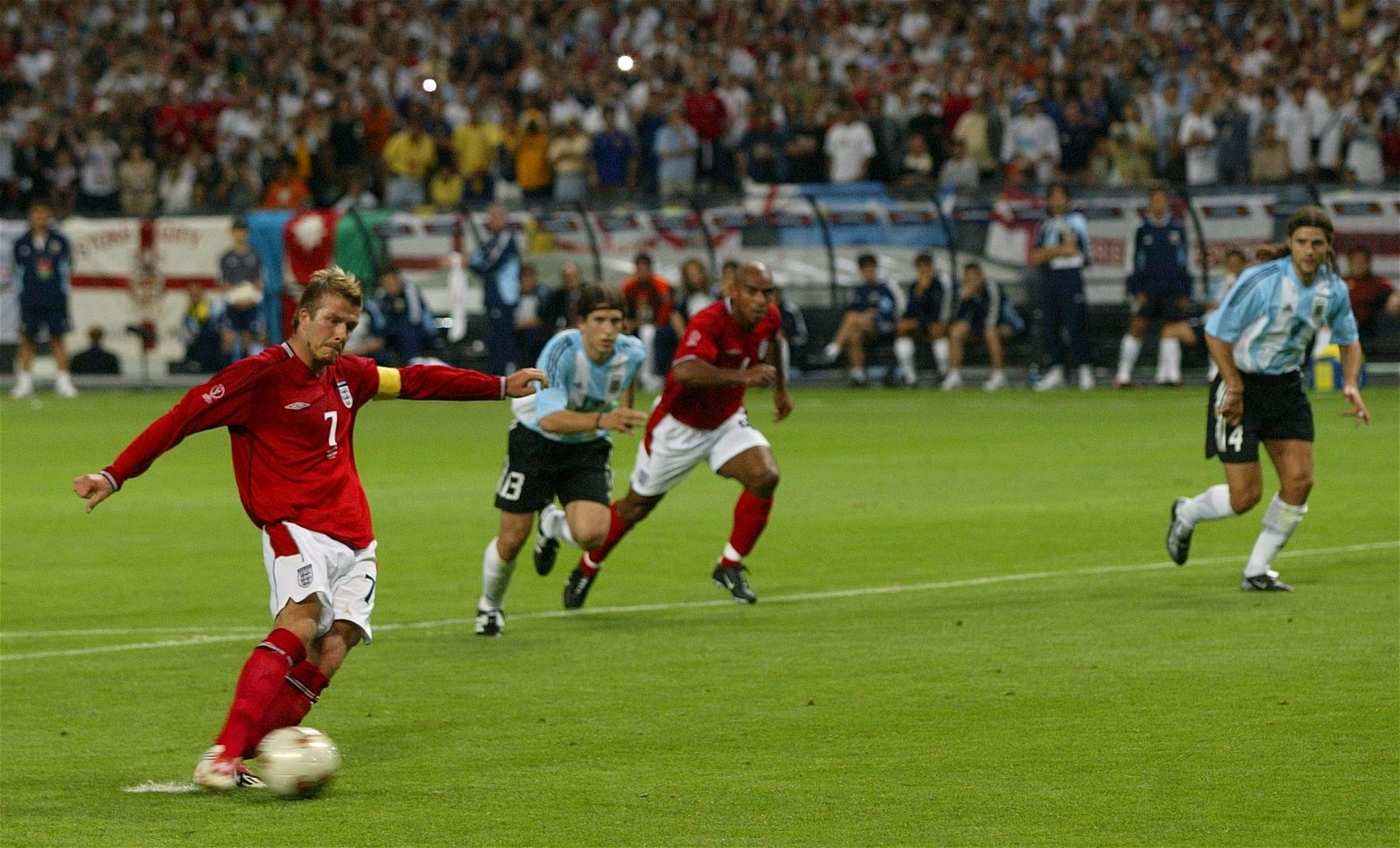 England's greatest World Cup moments: David Beckham kills the ghost that haunted him