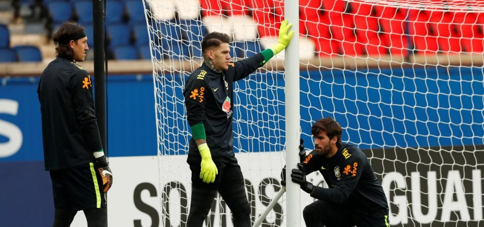 Groups of Manchester City fans debate why Ederson is deemed inferior to Alisson for Brazil