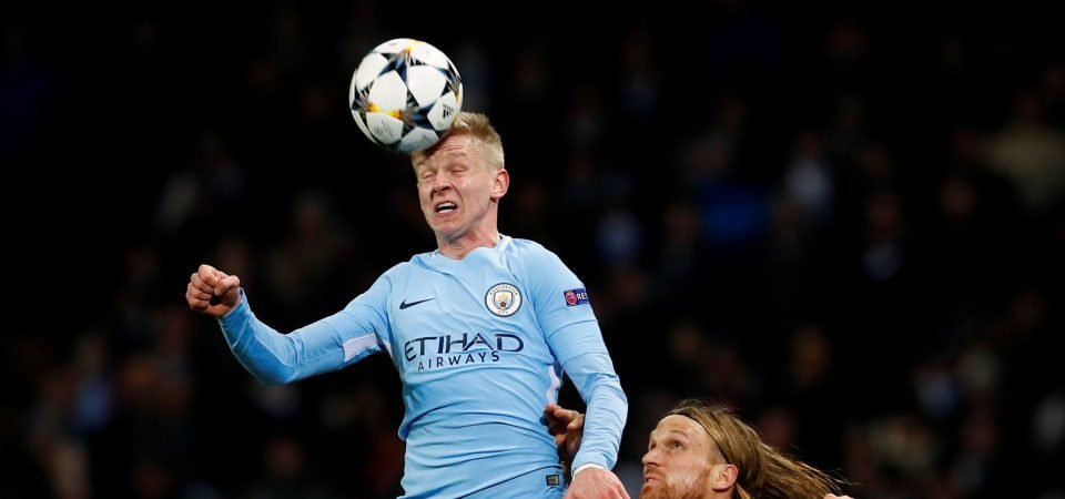 Manchester City fans devastated by possible Zinchenko move to Wolves