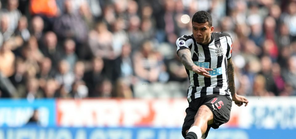 Newcastle fans annoyed by snag in Kenedy deal