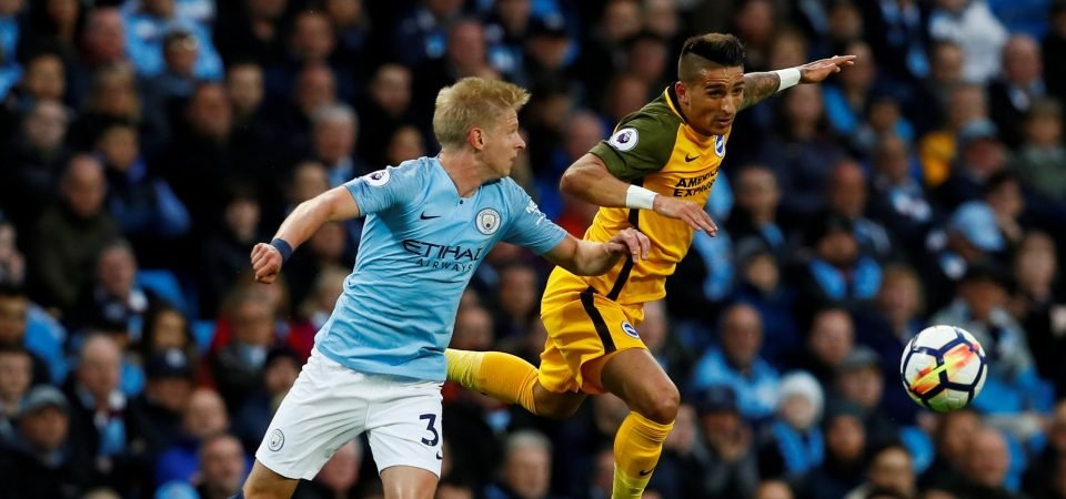 Wolves fans aren't too fussed about failing to sign Zinchenko
