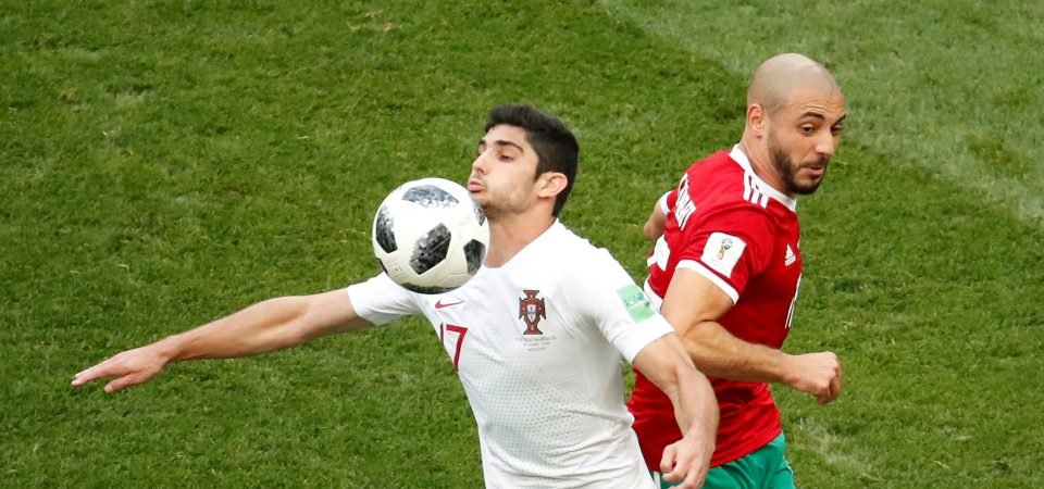 Chelsea fans divided over reported Guedes bid