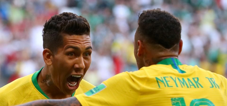 These Liverpool fans criticise Neymar for stealing Firmino's thunder
