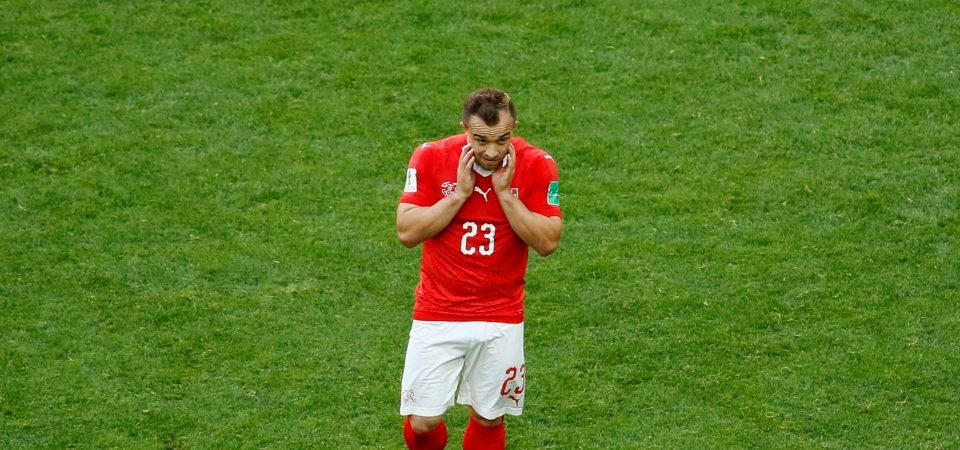 Shaqiri and Mourinho would an awful match, Man Utd should leave him for Liverpool