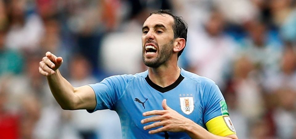 Diego Godin would solve a major issue for Jose Mourinho