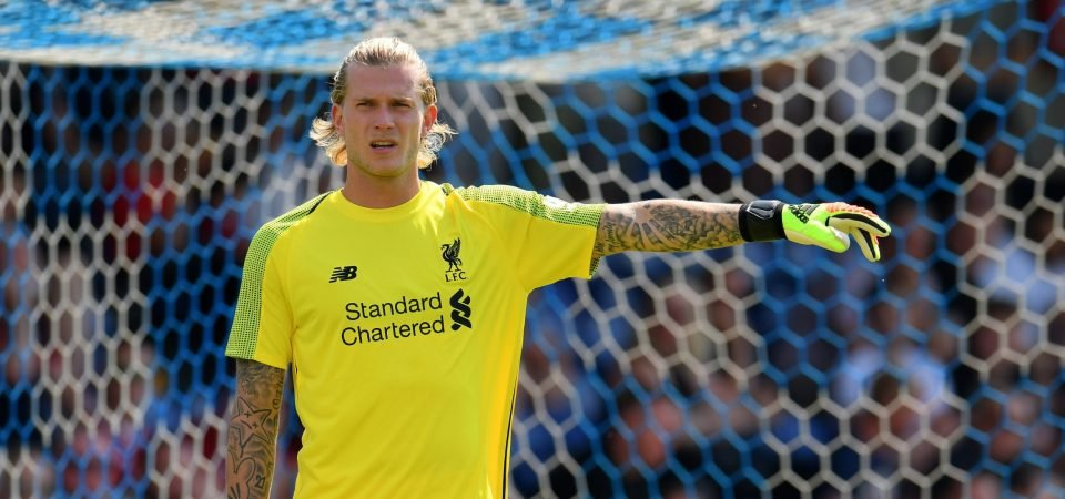 Karius ripped apart by Liverpool fans following pre-season blunder