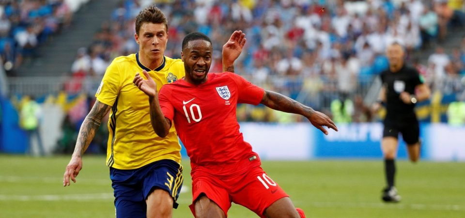 Liverpool fans take aim at Sterling over poor finishing for England