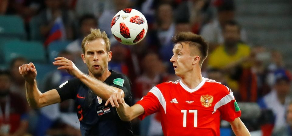 Arsenal should swoop to beat Chelsea to Golovin once Jorginho deal is done
