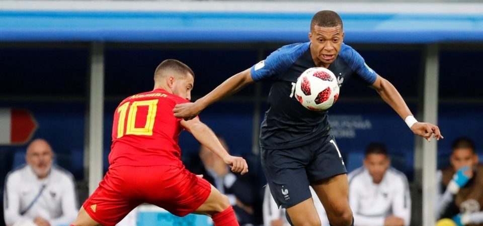Mbappe is the future and would be ideal Hazard replacement at Chelsea