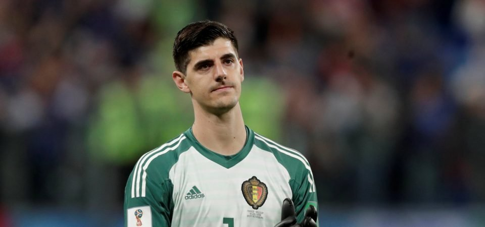 Liverpool fans urge Klopp to swoop for Courtois following Belgium's World Cup exit