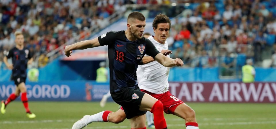 Plenty of Man United fans were impressed with Ante Rebic on Sunday