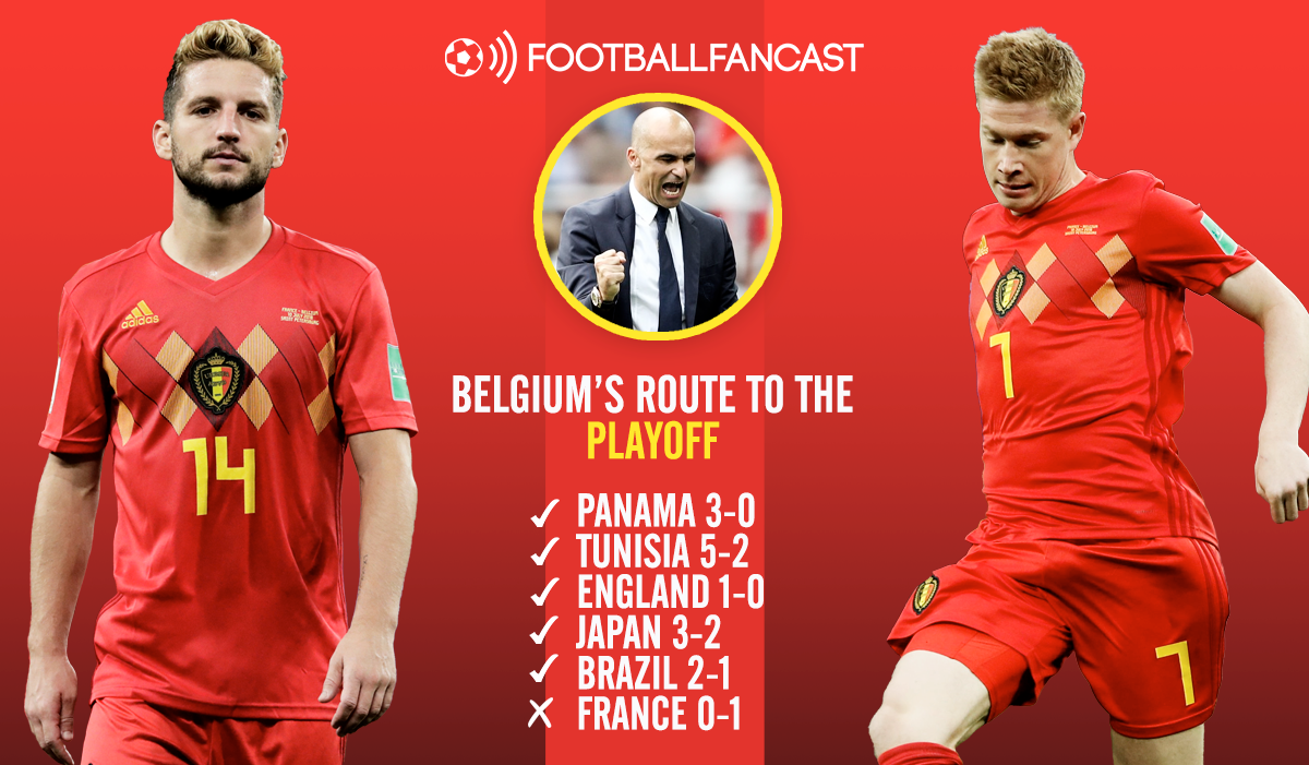Belgium's Route to the Playoffs