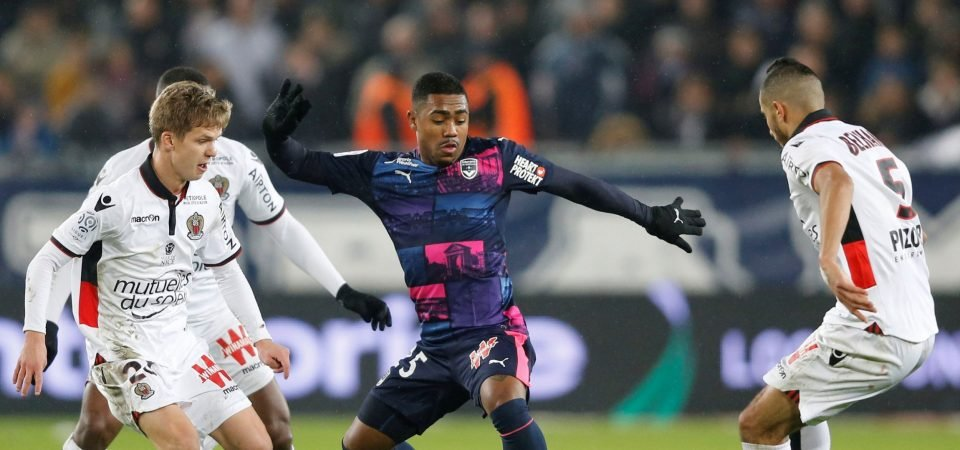 Everton fans rage as Malcom set for Roma switch