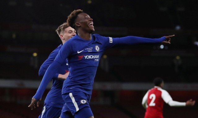 Chelsea fans hoping to see Callum Hudson-Odoi in action against PAOK