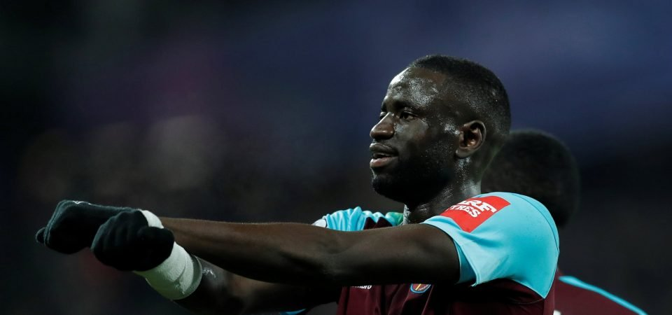 West Ham fans blast Merson over Kouyate comments