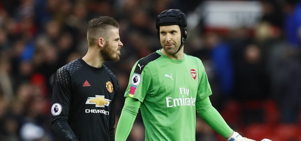 David De Gea and Petr Cech prove a goalkeeper is only as great as the defence in front of him