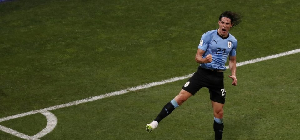 These Chelsea fans would love to see Edinson Cavani at Stamford Bridge after World Cup double