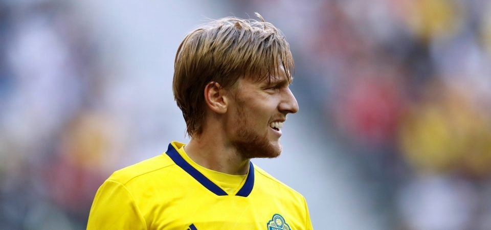 Lots of West Ham fans urge club to sign Emil Forsberg after latest Sweden display