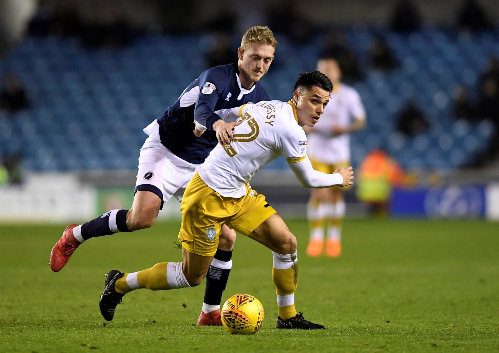 George Saville for Millwall vs Sheffield Wednesday