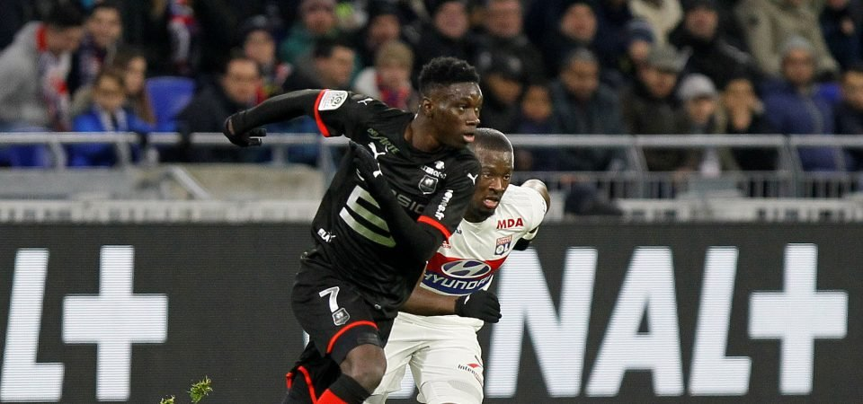 Tottenham must forget Wilfried Zaha and join race to sign Ismaila Sarr instead