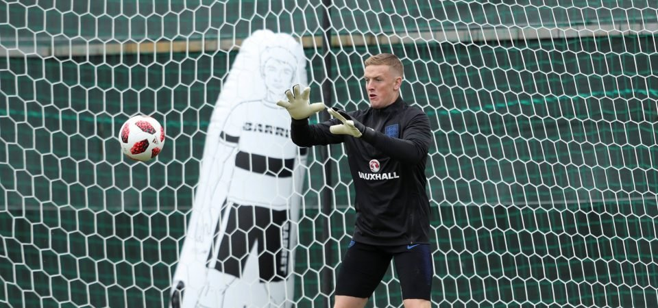 Revealed: Only 58% of England fans would start Jordan Pickford against Colombia