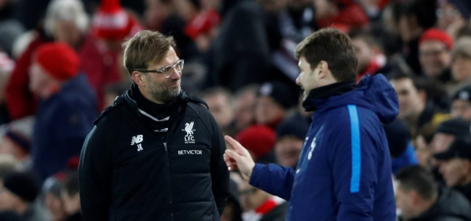 Liverpool fans beg Tottenham Hotspur to get a result against Manchester City