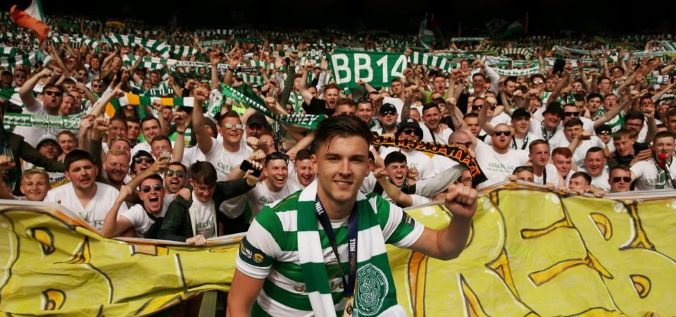 Celtic fans give verdict on Kieran Tierney's future after pre-season friendly