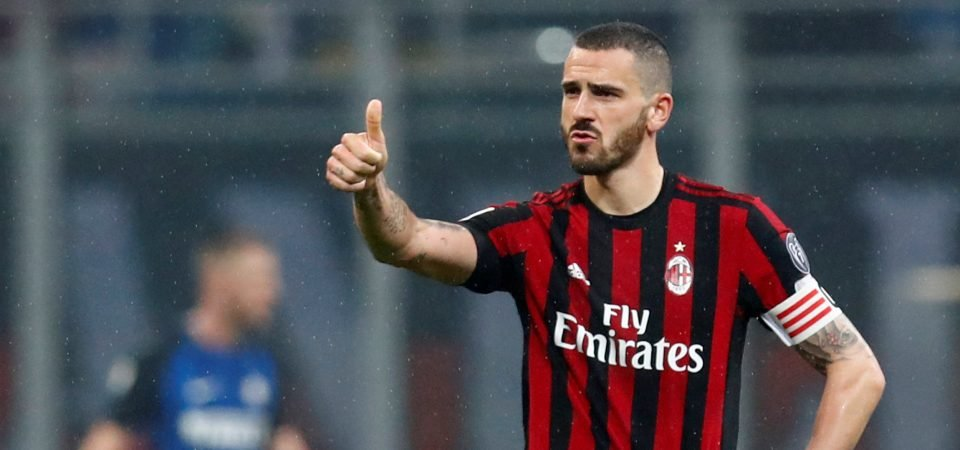 Bonucci would be Mourinho's best signing at United