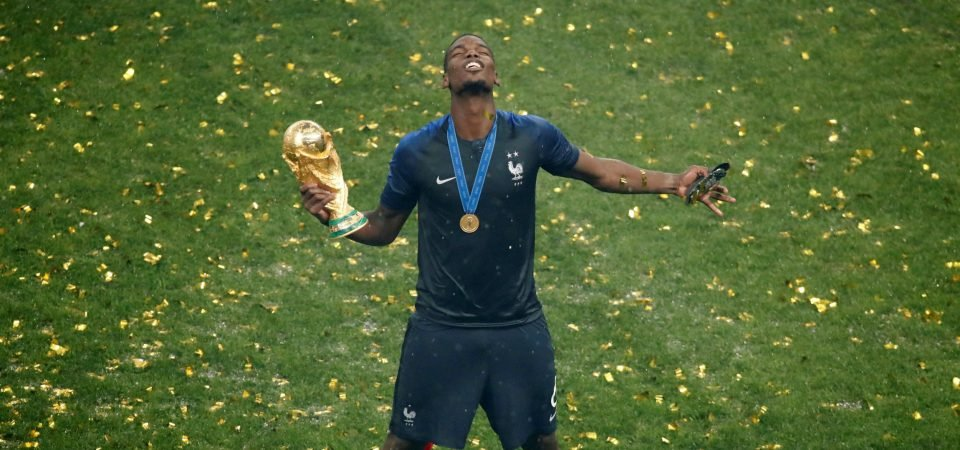 Paul Pogba's World Cup final display will affect dressing room politics at Man United